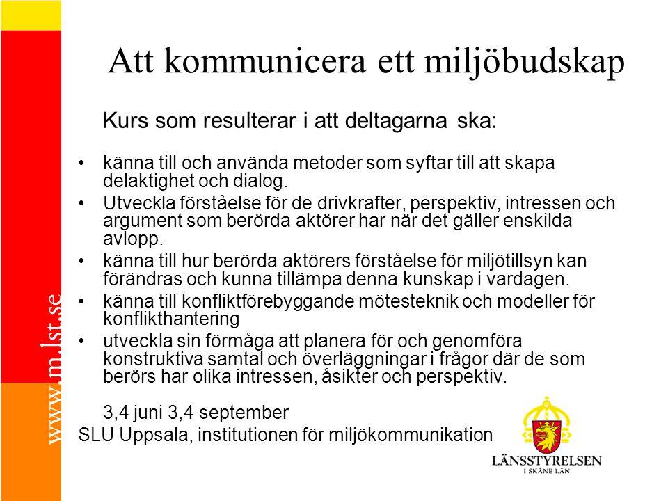 Program - planera och åtgärda landsbygdens avlopp 09.00-09.15Länsstyrelsens vägledning om små avlopp Stefan Fahlstedt Länsstyrelsen i Skåne län 09.15-11.35Fixa avlopp – vilka rättsregler står till buds.