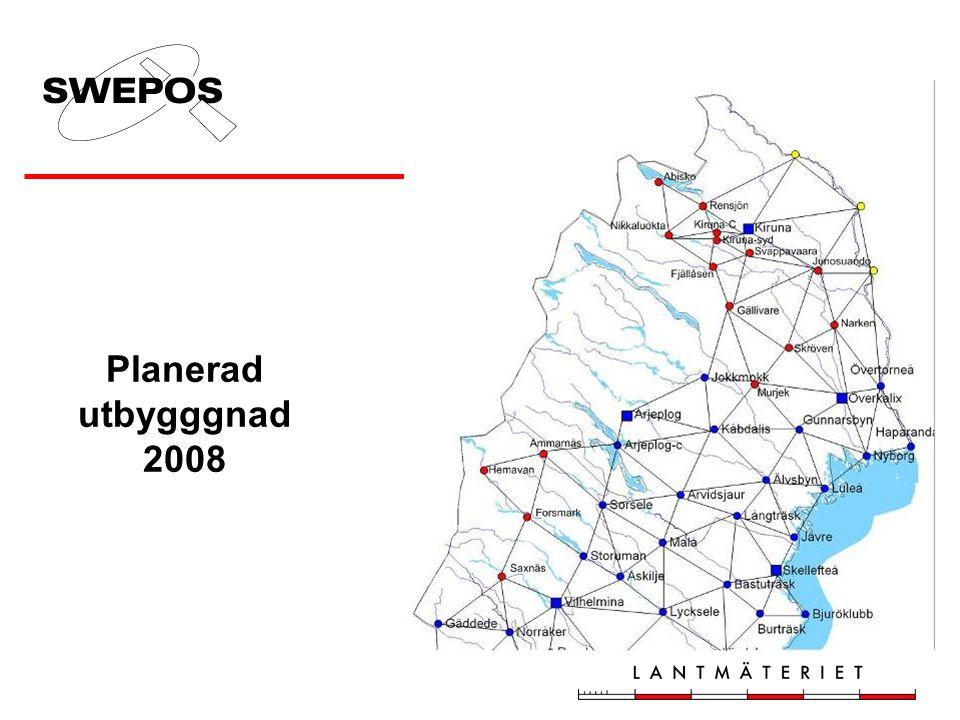Planerad utbygggnad 2008