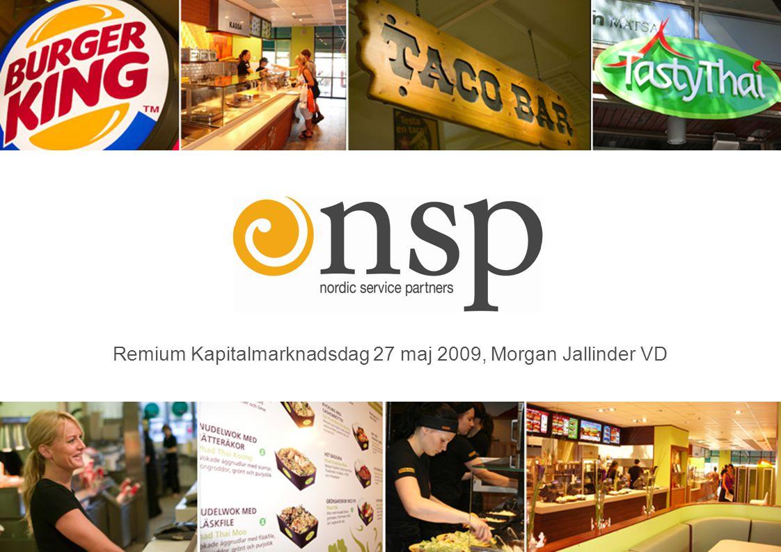 Remium Kapitalmarknadsdag 27 maj 2009, Morgan Jallinder VD