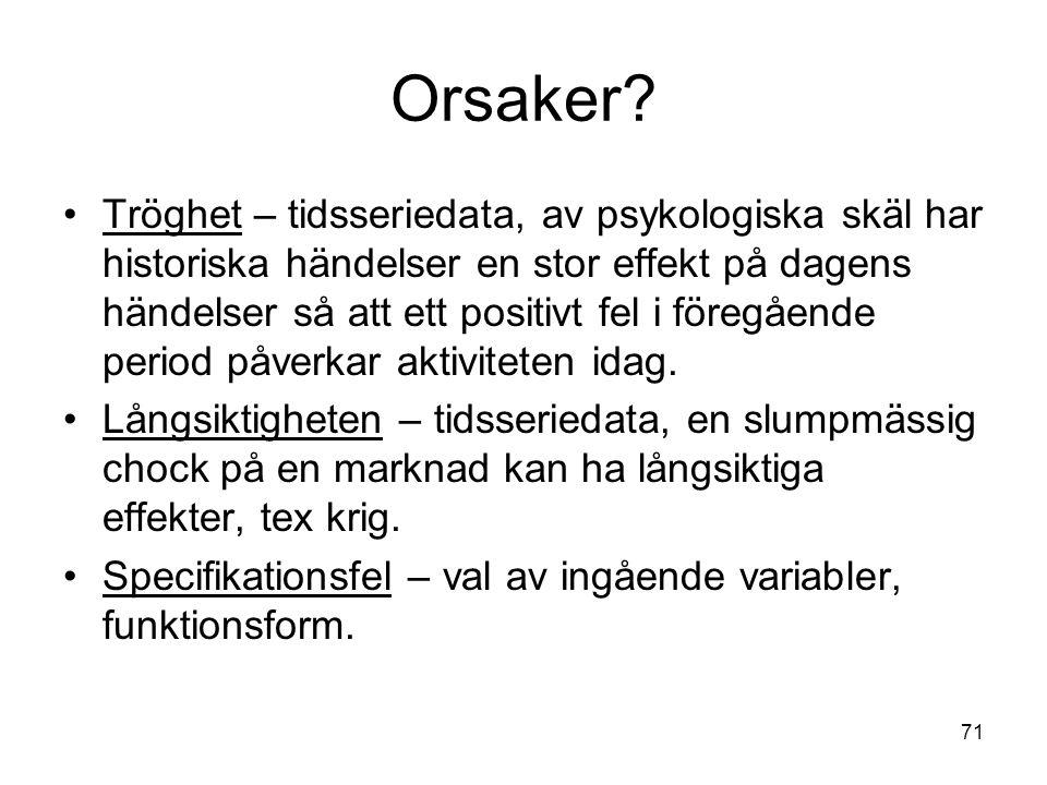 71 Orsaker.