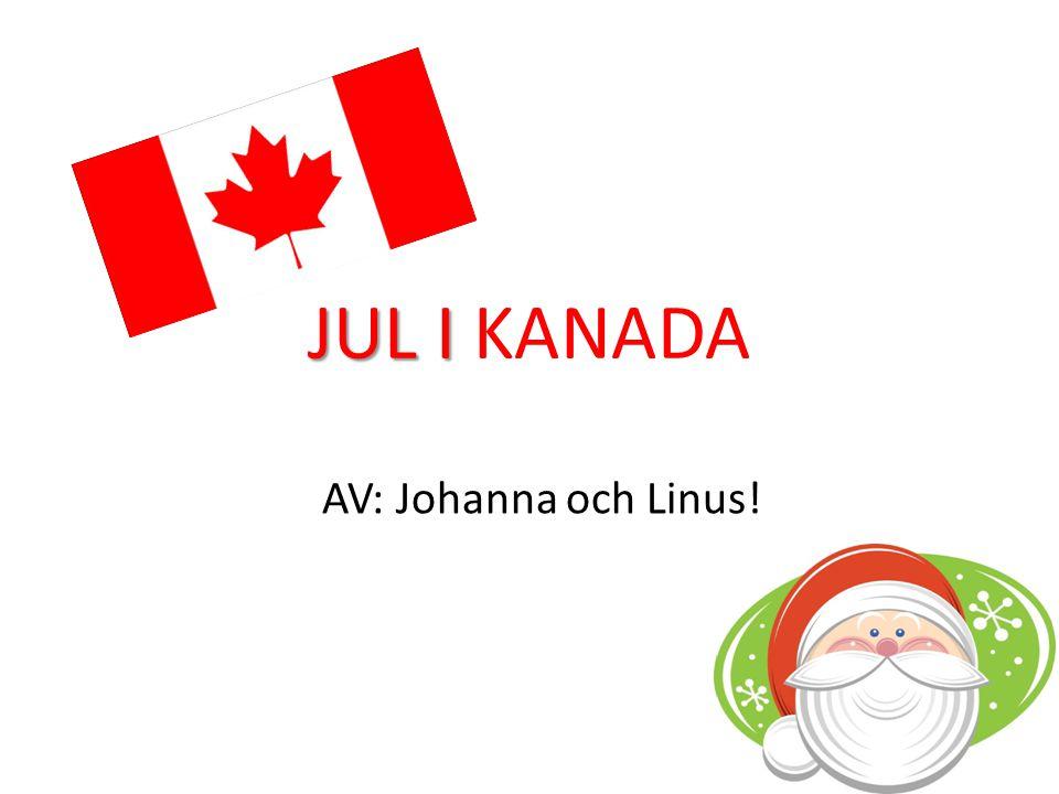 JUL I JUL I KANADA AV: Johanna och Linus!