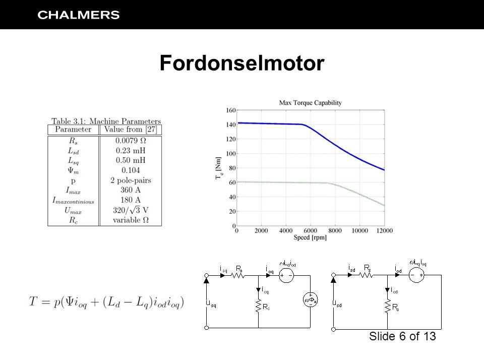 Fordonselmotor Slide 6 of 13