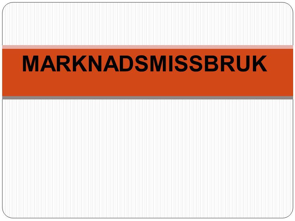 MARKNADSMISSBRUK
