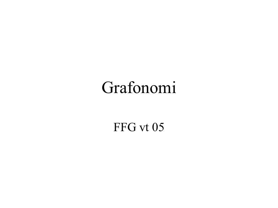 Grafonomi FFG vt 05