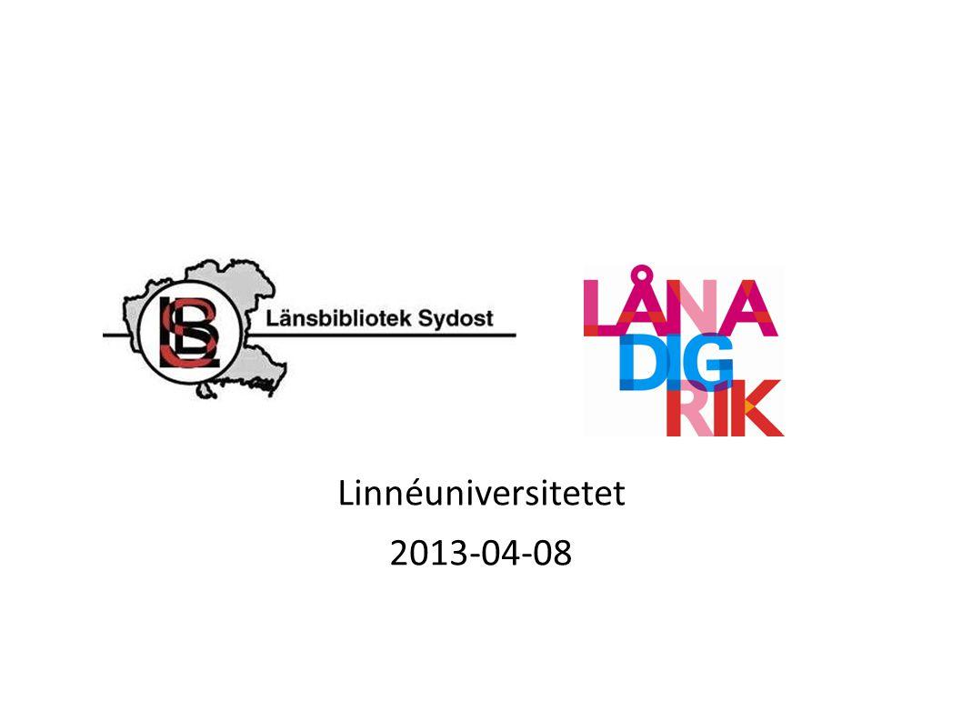 Linnéuniversitetet 2013-04-08