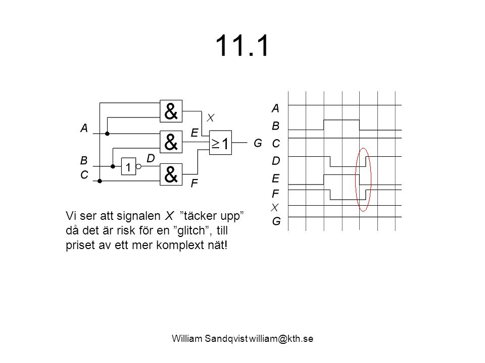 William Sandqvist william@kth.se 11.4 Analysera följande krets.