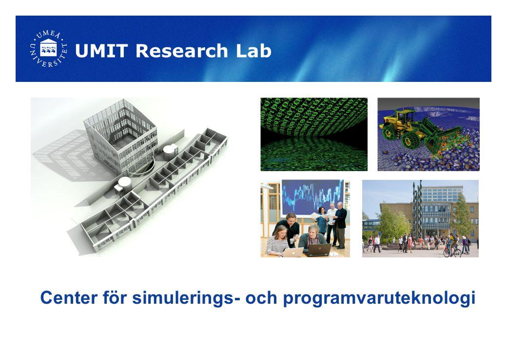 UMIT Research Lab Center för simulerings- och programvaruteknologi