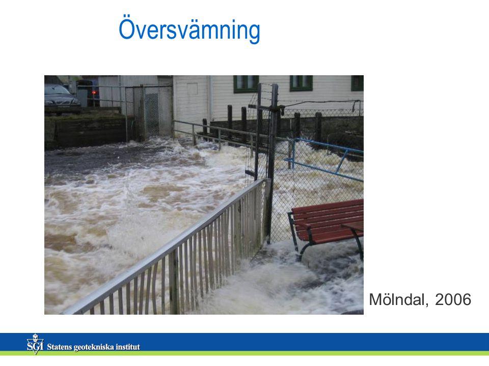 Översvämning Mölndal, 2006