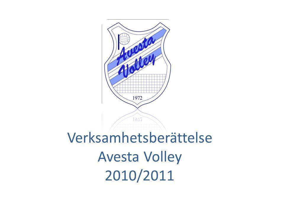 Verksamhetsberättelse Avesta Volley 2010/2011