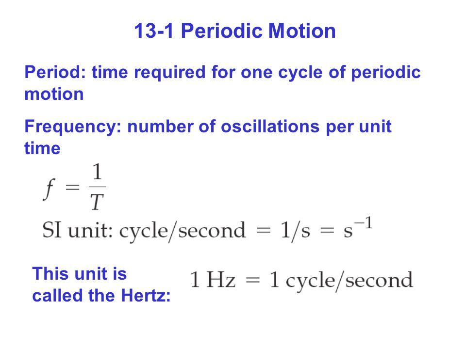Exercise 13-4 (p.415)+Conceptual Checkpoint 13-2 Ett golvur är konstruerat för att göra ett utslag (en halv period) på en sekund.