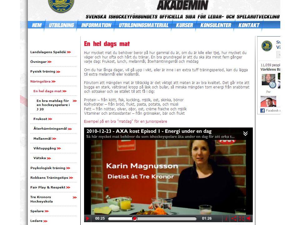 Mellanmål ProteinKolhydraterFrukt/grönt Jennie Johansson Leg. dietist