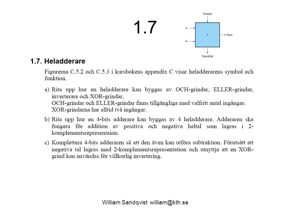 1.7 William Sandqvist william@kth.se