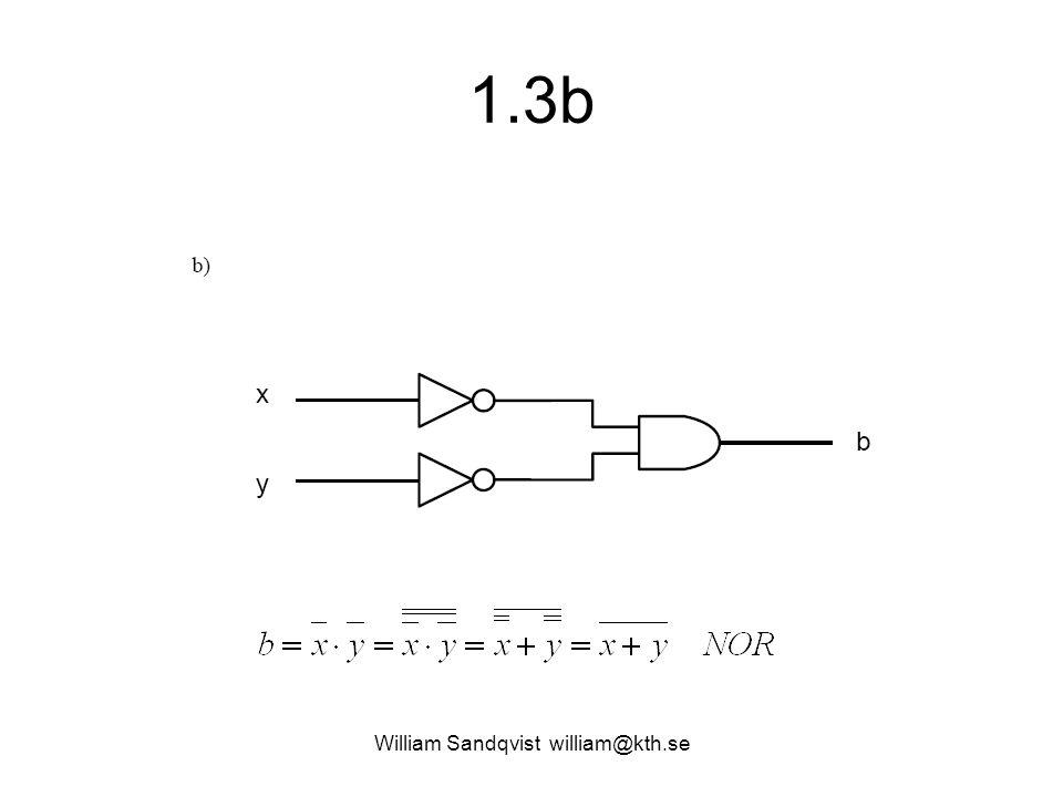 1.3b William Sandqvist william@kth.se
