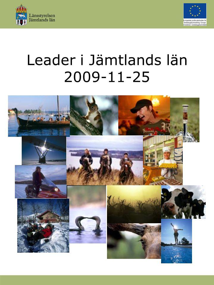 Leader i Jämtlands län 2009-11-25 Tryck | OH/PP | Web b TryckOH/PPWeb b