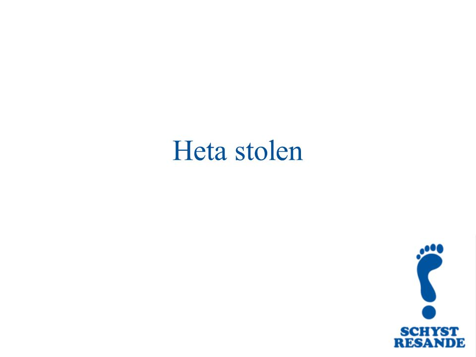 Heta stolen