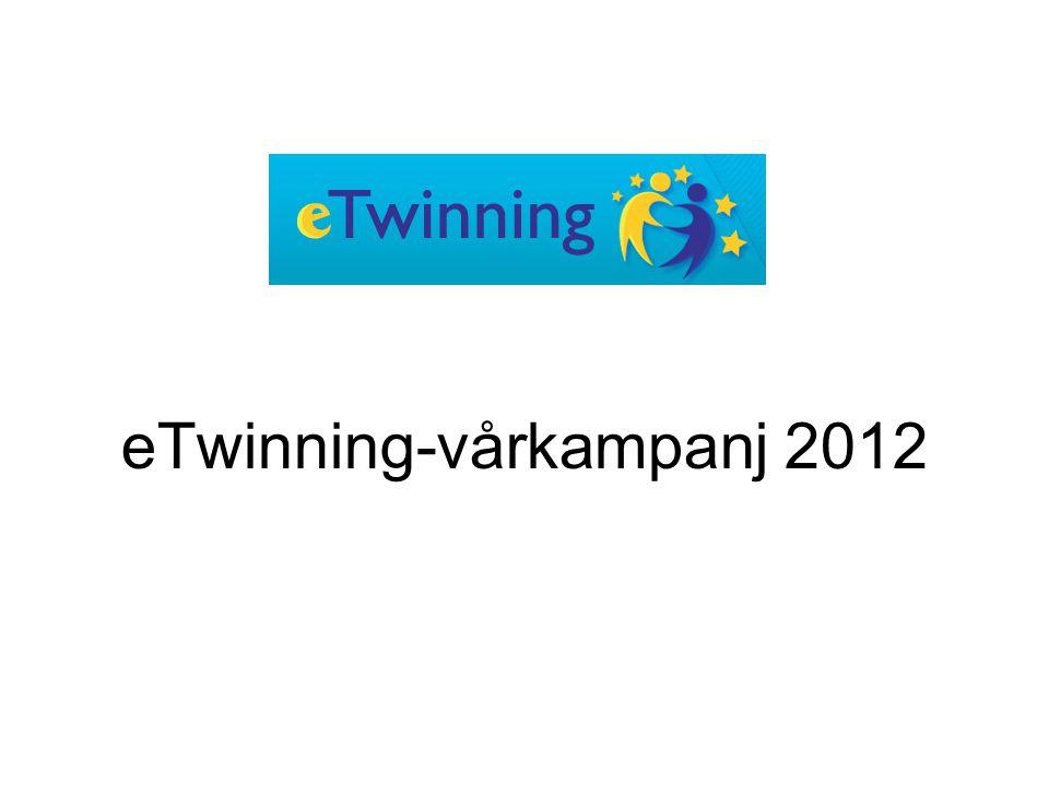 eTwinning-vårkampanj 2012