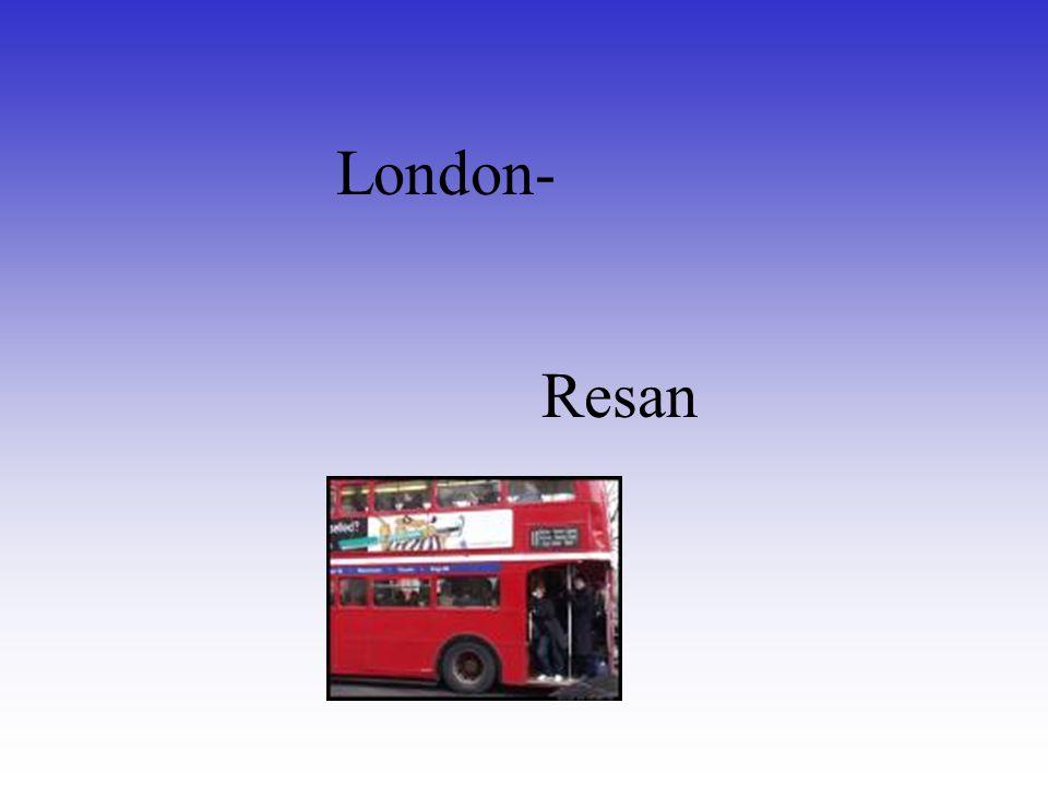 London- Resan