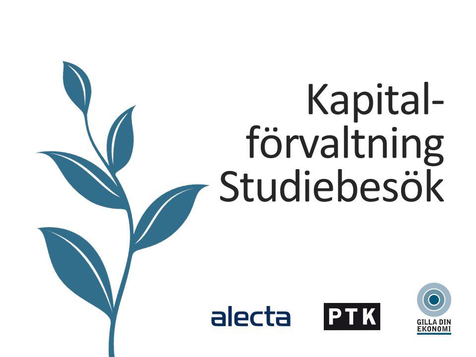 Kapital- förvaltning Studiebesök