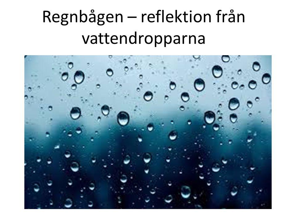 Läs om regnbågen i fysikboken, sida. 74