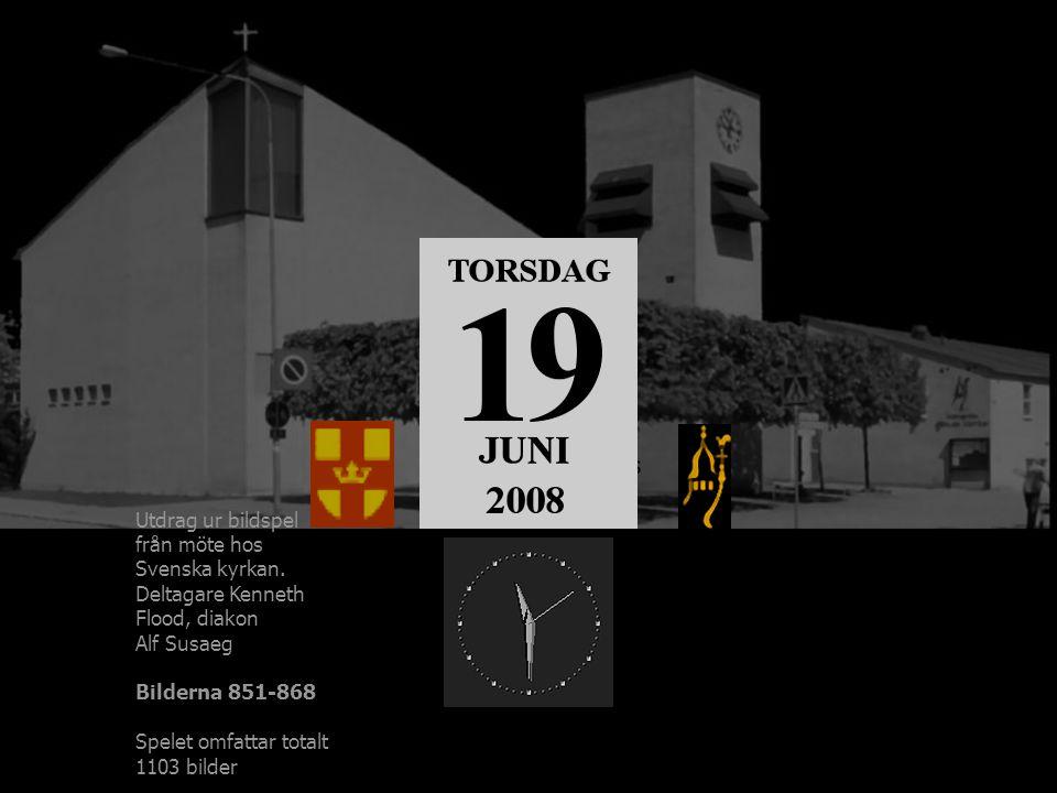 Möte hos Österåker Östra Ryds församling Utdrag ur bildspel från möte hos Svenska kyrkan. Deltagare Kenneth Flood, diakon Alf Susaeg Bilderna 851-868