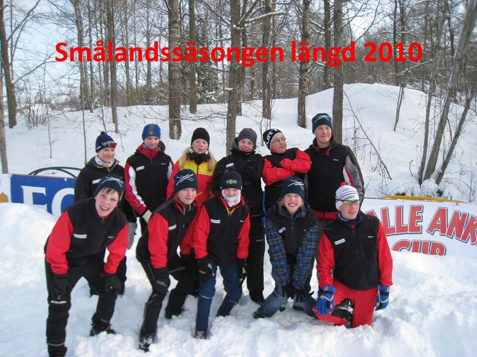 Tävlingsstatistik 2010 18 av 19 distriktstävlingar på snö genomförda, (2009: 16 /19) 1 inställd 14 mars pga för få anmälda, ej snöbrist ( 3 pga snöbrist) 652 anm ungdomsåkare tot 17 tävlingar, =38st/ tävling.