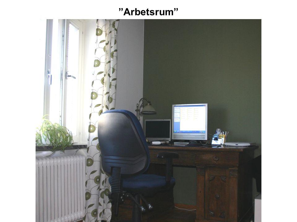 """""""Arbetsrum"""""""