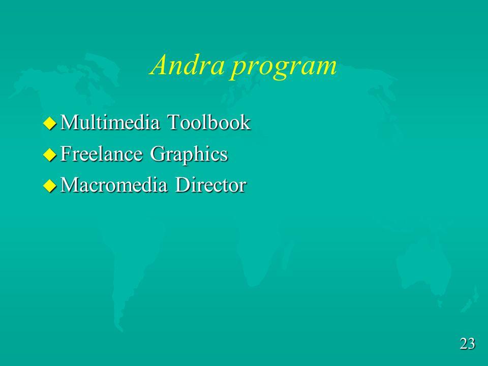 22 Har jag PowerPoint? u Vet inte? u Kan köpas från Datacentralen. –Numera från Mikava u Ingår i Microsoft Office och Office Professional. u Pris i WW