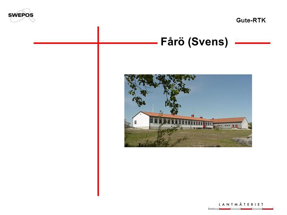 Gute-RTK Fårö (Svens)