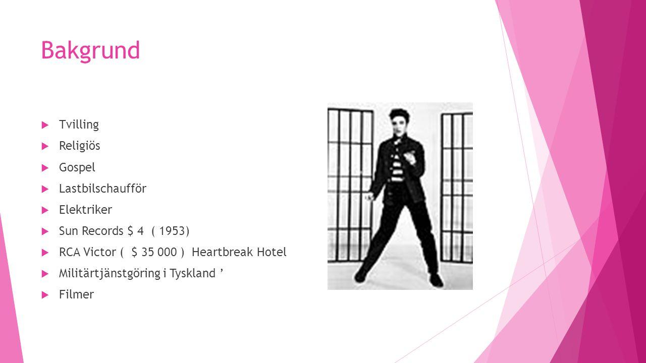 The King  68 Come Back Special  1100 konserter under 8 år  Samlade in pengar bl.a.