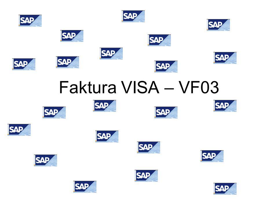 Faktura VISA – VF03