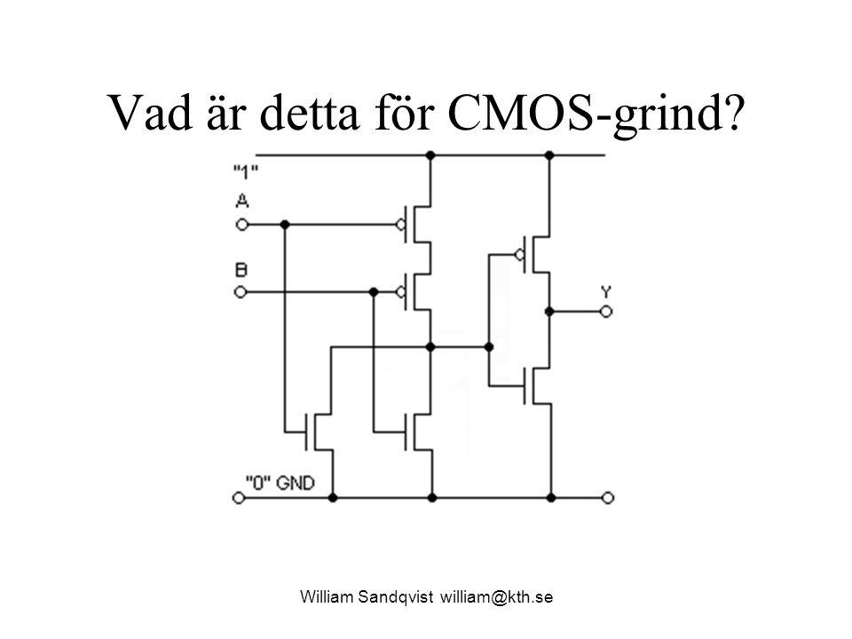 Vad är detta för CMOS-grind? William Sandqvist william@kth.se