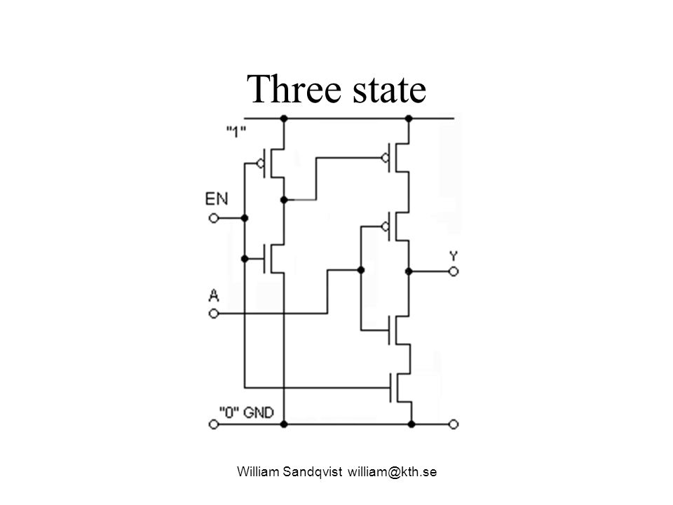 Three state William Sandqvist william@kth.se