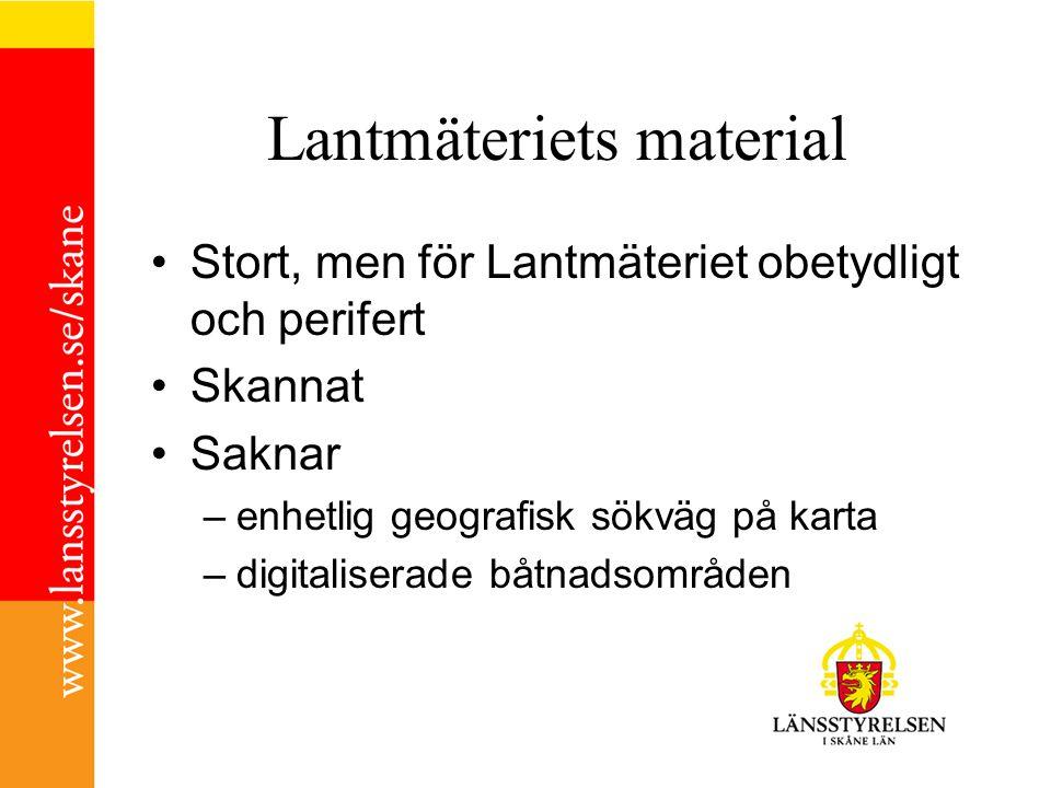 Pilotprojekt i samarbete: HUT Skåne, Lantmäteriet och Lst – och kommunerna.