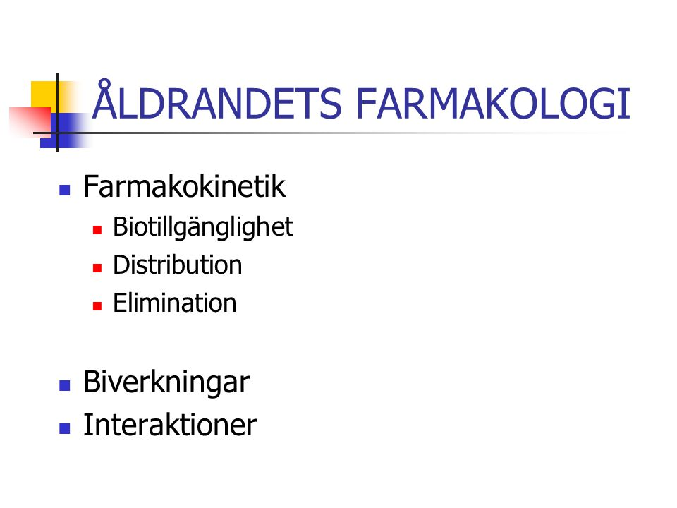 BIOTILLGÄNGLIGHET Gastrointestinal absorption.Intramuskulär absorption.