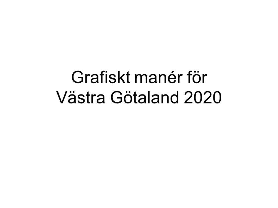 Grafiskt manér för Västra Götaland 2020