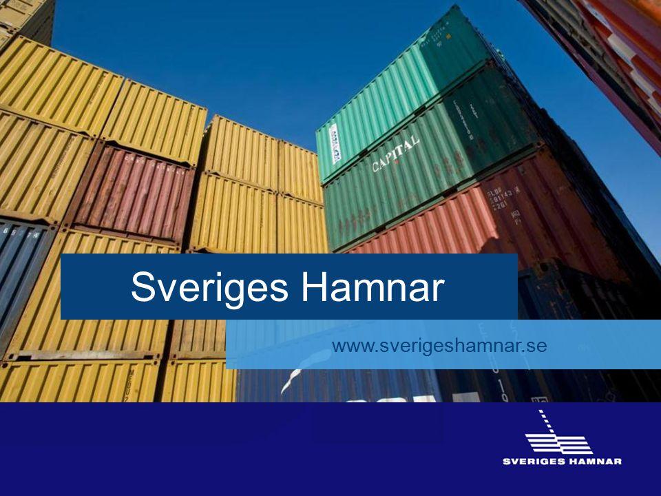 Sveriges Hamnar www.sverigeshamnar.se