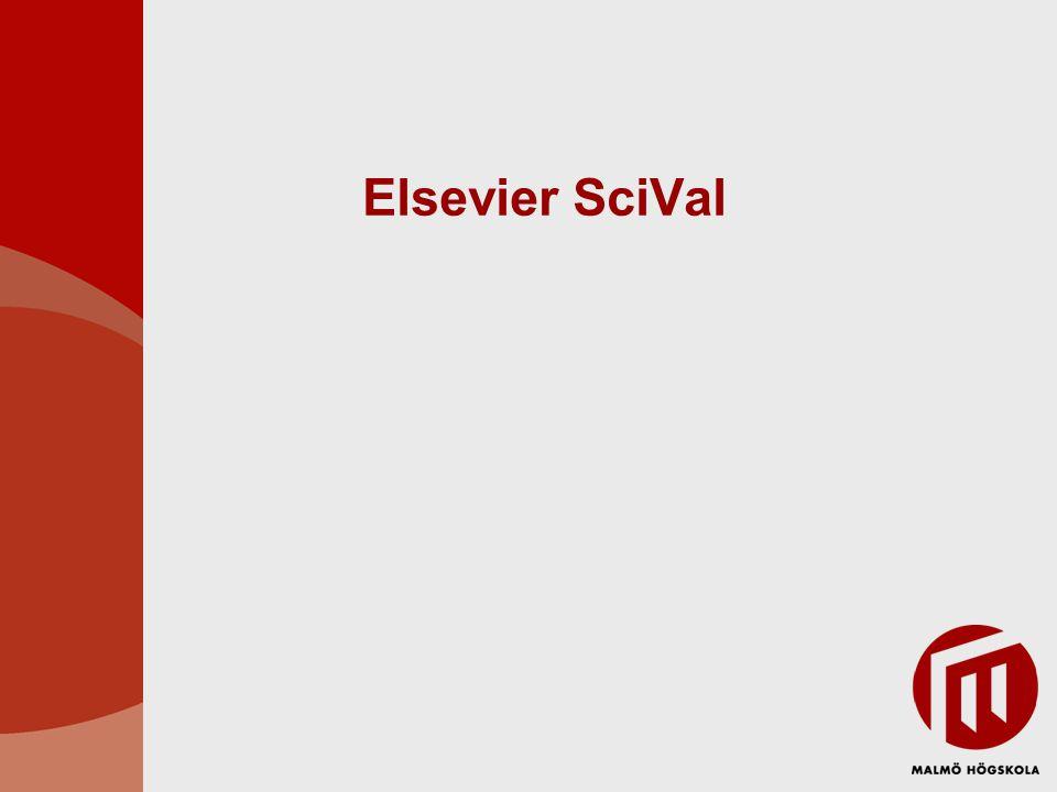 Elsevier SciVal