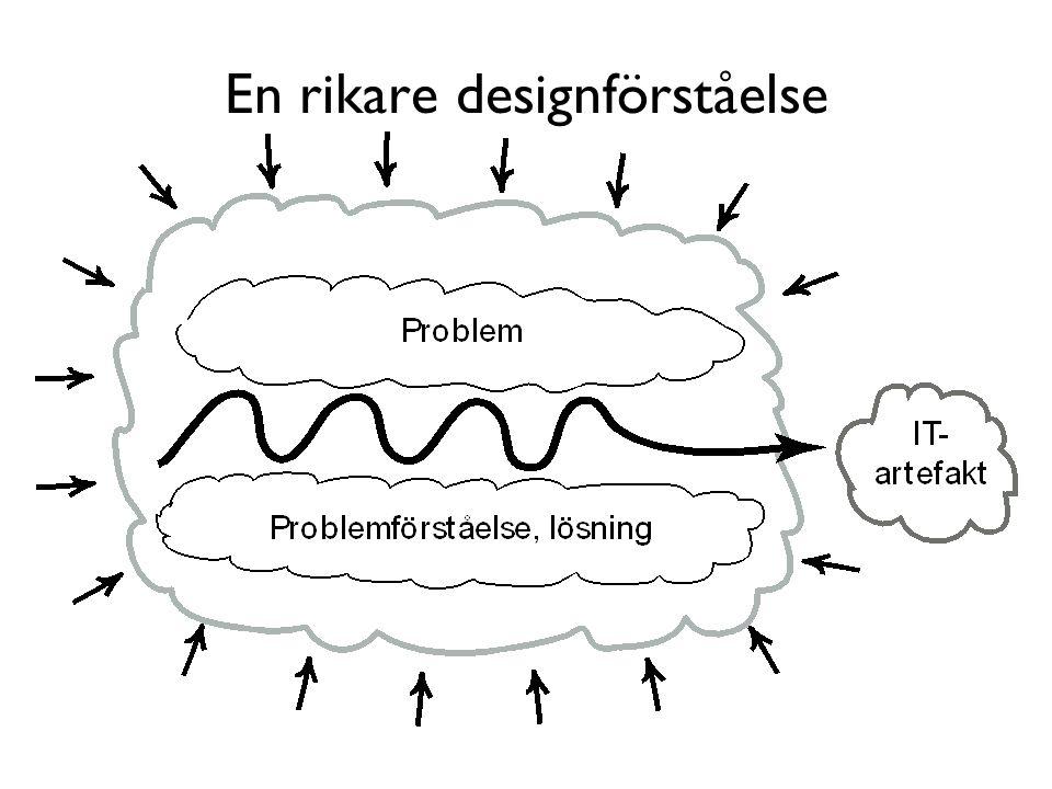 En rikare designförståelse
