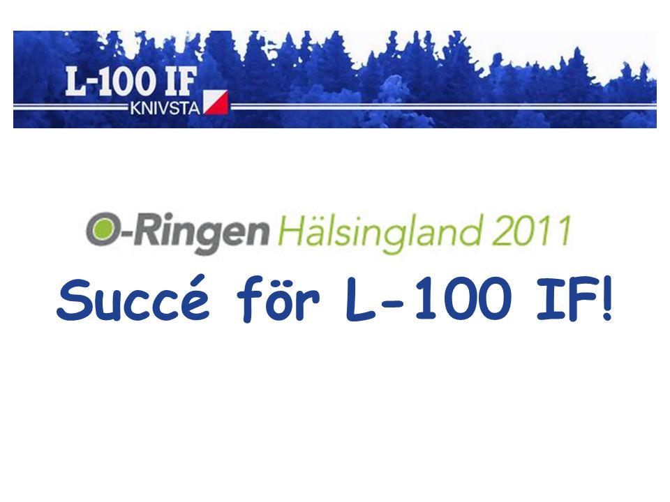Succé för L-100 IF!