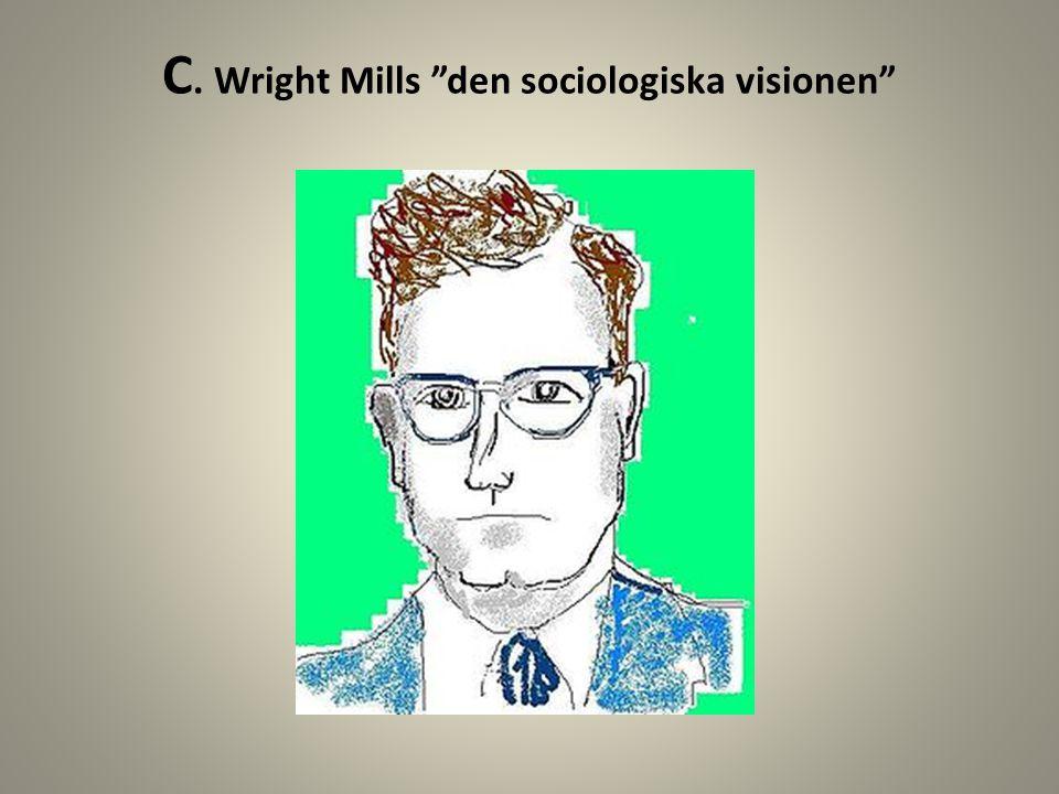 C. Wright Mills den sociologiska visionen