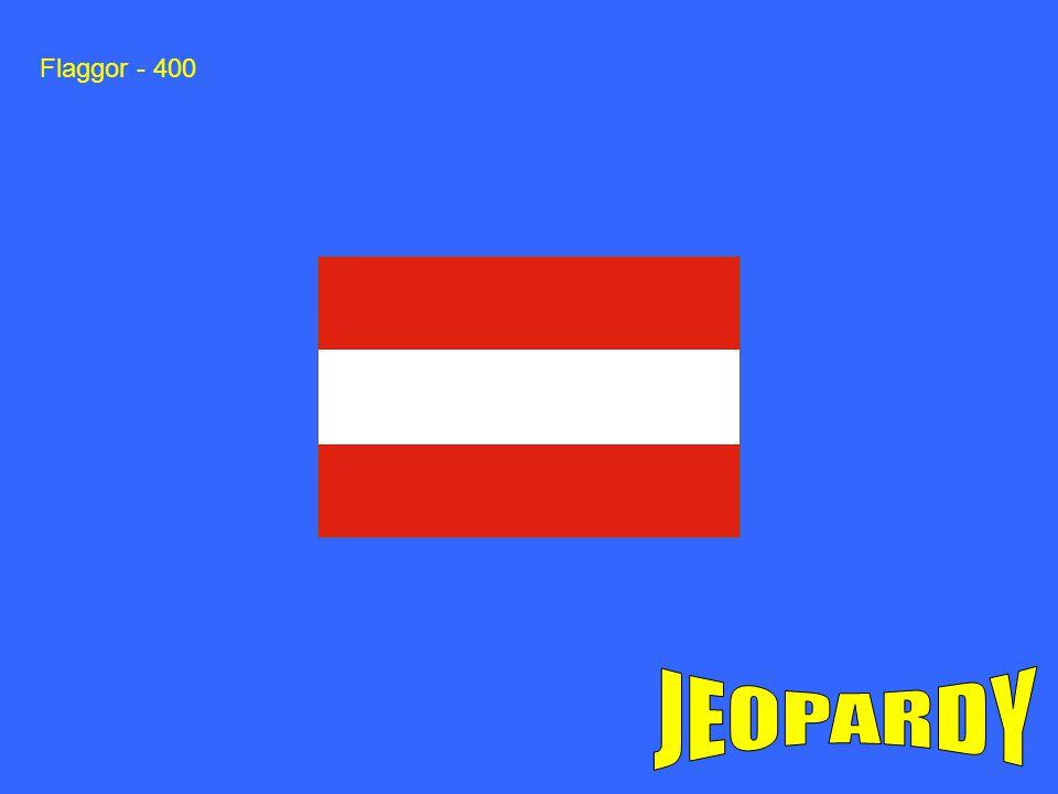 Flaggor - 400