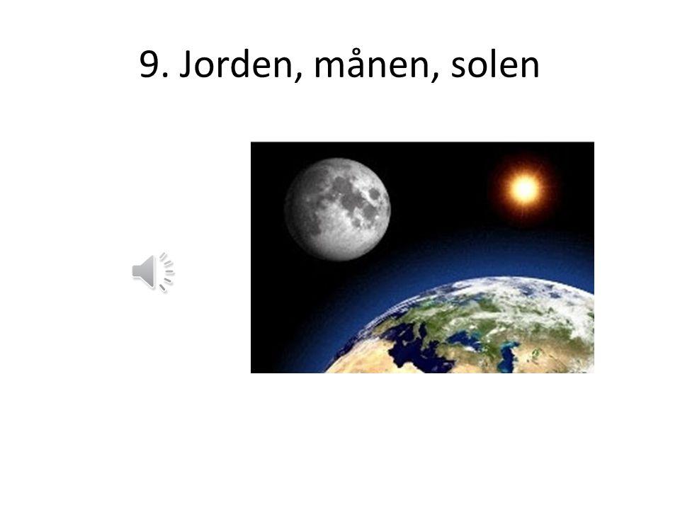 6. Månen lyser ej 7. Månens faser