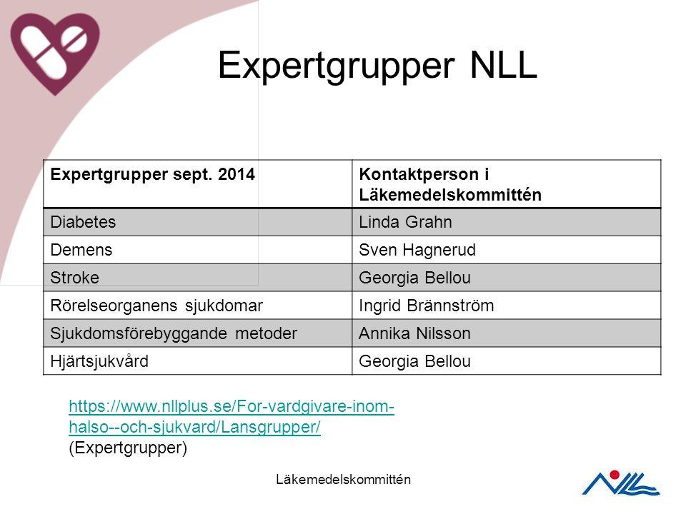 Expertgrupper NLL Expertgrupper sept.