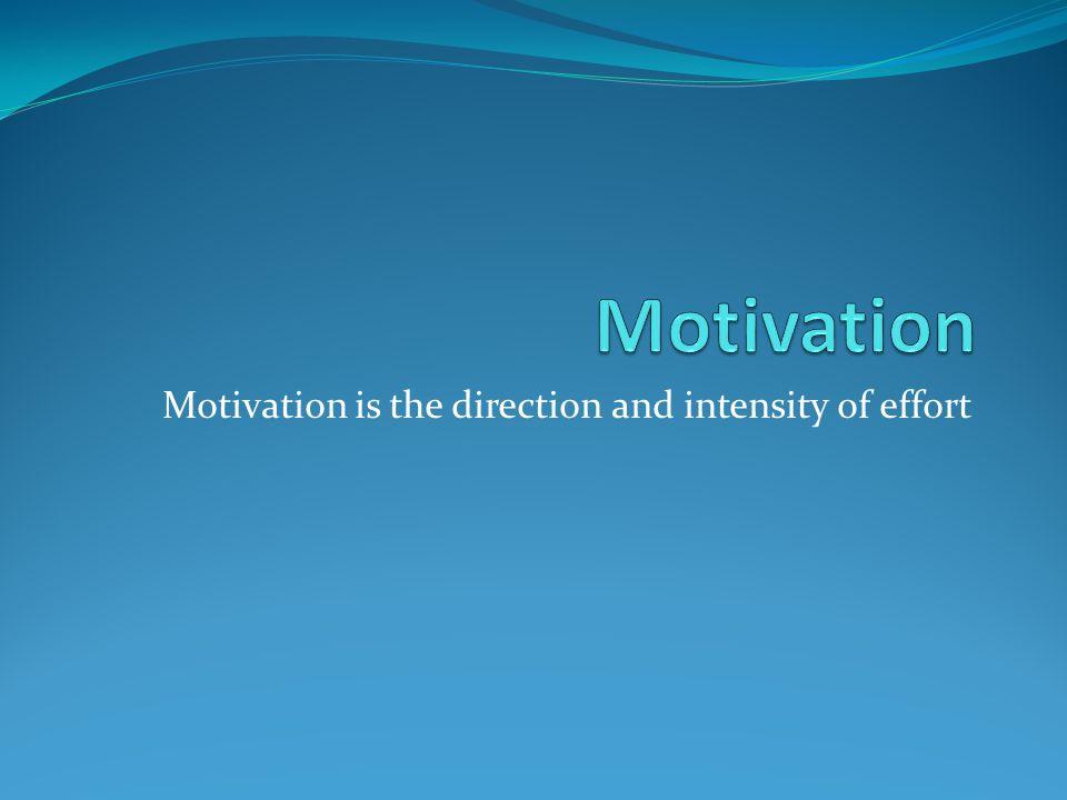 Tre synsätt på motivation Trait- centered view Situation – centered view Interactional view PersonlighetSituation Motivation