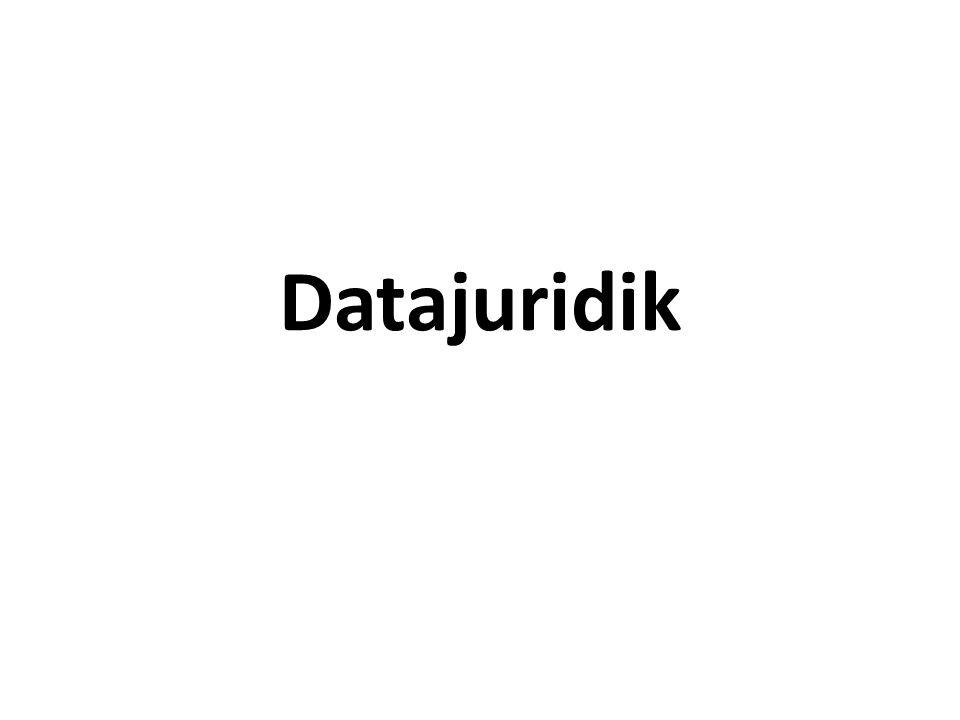 Datajuridik