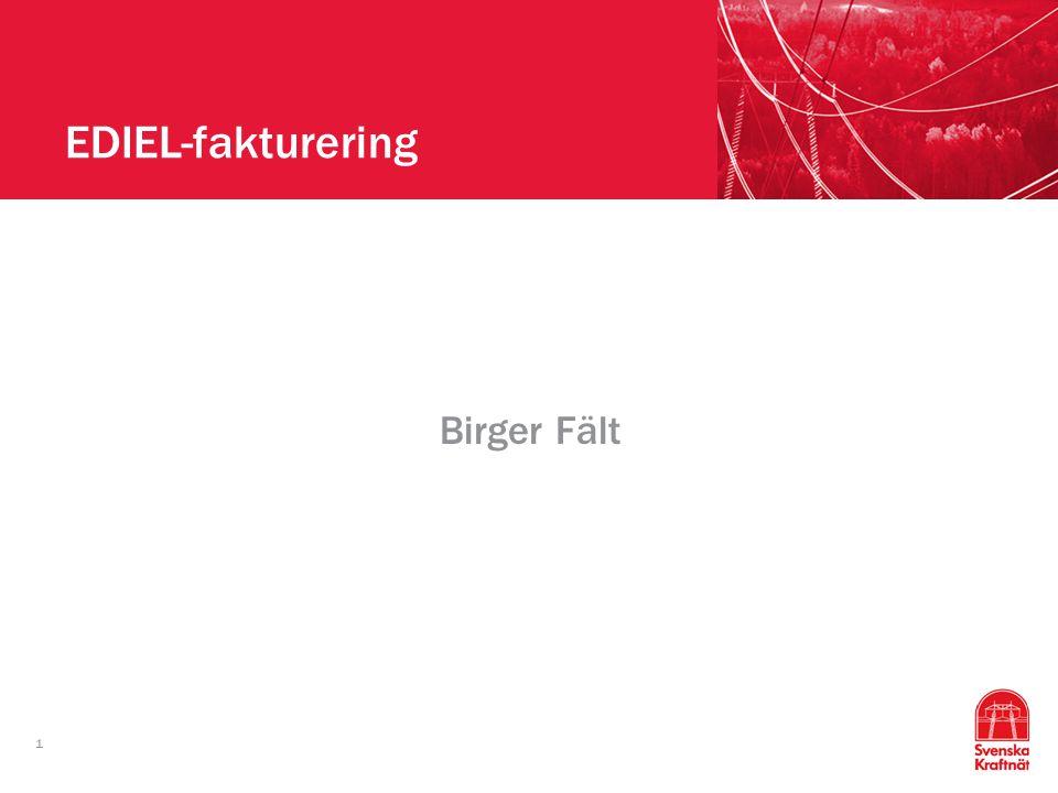 1 EDIEL-fakturering Birger Fält