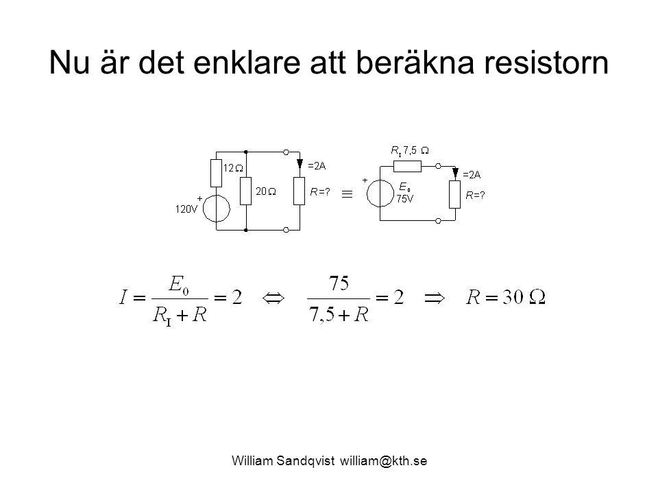 William Sandqvist william@kth.se DMM Fluke 45 Kommer Du ihåg samtidig mätning av spänning och ström.