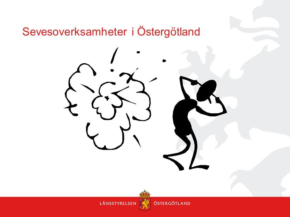 Sevesoverksamheter i Östergötland
