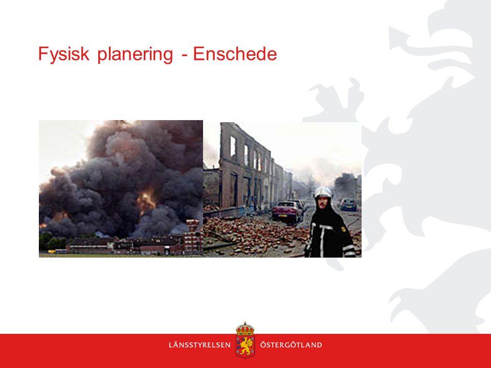 Fysisk planering - Enschede