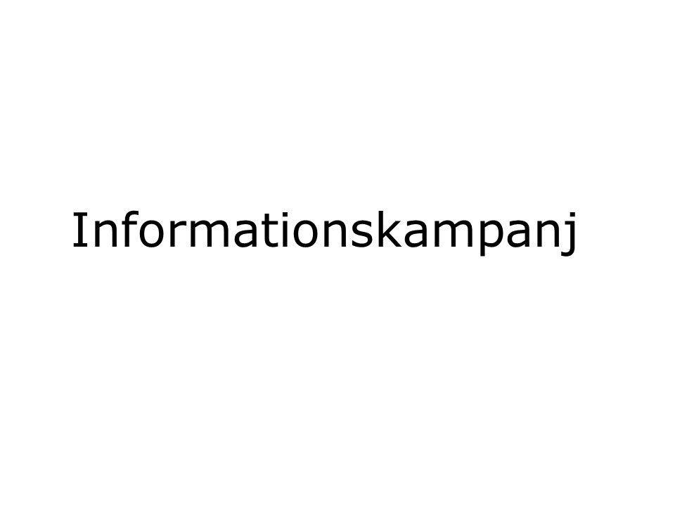 Informationskampanj